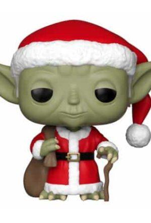 Star Wars POP! Vinyl Bobble-Head Holiday Santa Yoda 9 cm