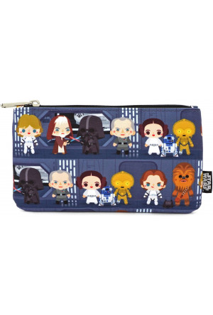 Star Wars by Loungefly Coin/Cosmetic Bag Chibi Characters
