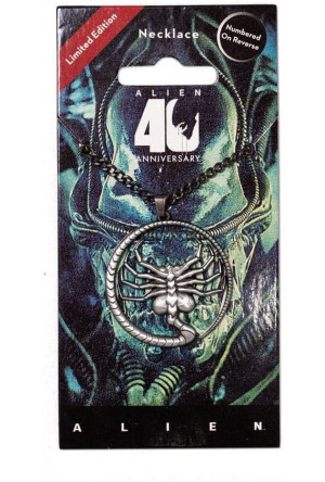 Alien 40th Anniversary Necklace Facehugger