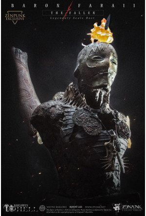Barlowe's Hell Legendary Scale Bust 1/2 Barin Faraii The Fallen Zenpunk Exclusive 55 cm