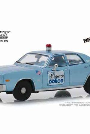 Beverly Hills Cop Diecast Model 1/43 1977 Plymouth Fury Detroit Police
