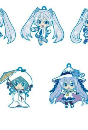 Character Vocal Series 01: Hatsune Miku Nendoroid Plus PVC Keychain 5-Pack Vol. 1 6 cm