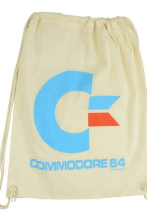 Commodore 64 Gym Bag White Logo