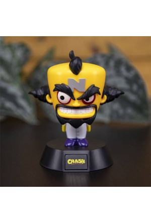 Crash Bandicoot 3D Icon Light Doctor Neo Cortex 10 cm