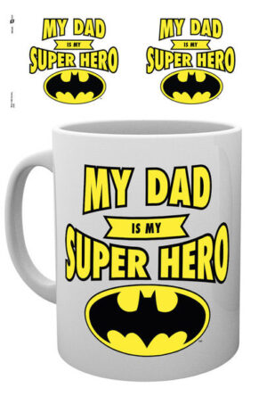 DC Comics Mug Batman Dad Superhero