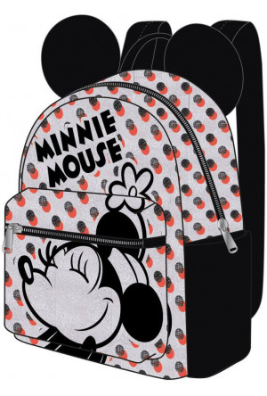 Disney Casual Fashion Backpack Minnie Mouse Dots 22 x 23 x 11 cm