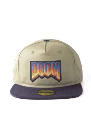 Doom Snapback Cap Eternal - Retro Logo