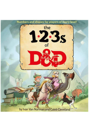 Dungeons & Dragons Book The 123s of D&D english