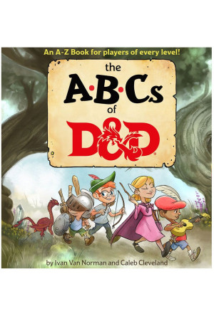 Dungeons & Dragons Book The ABCs of D&D english