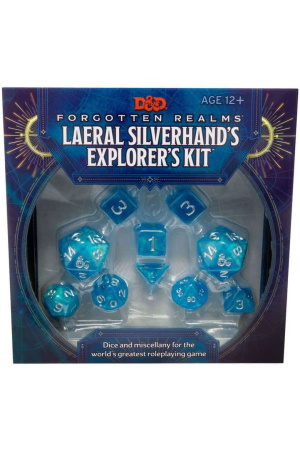 Dungeons & Dragons Forgotten Realms: Laeral Silverhand's Explorer's Kit - Dice & Miscellany english