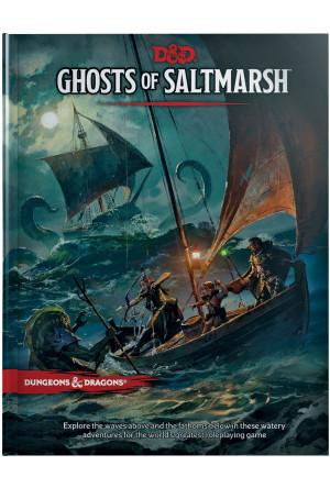 Dungeons & Dragons RPG Adventure Ghosts of Saltmarsh english