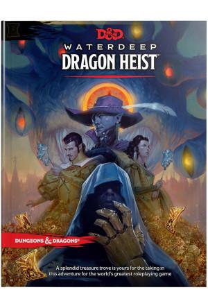 Dungeons & Dragons RPG Adventure Waterdeep: Dragon Heist english