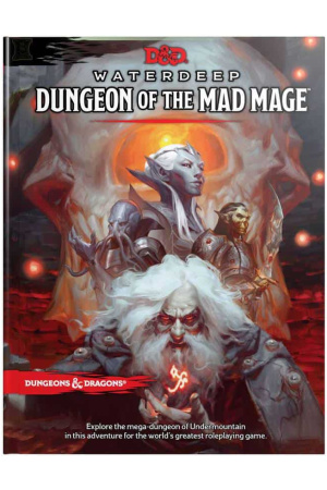 Dungeons & Dragons RPG Adventure Waterdeep: Dungeon of the Mad Mage english