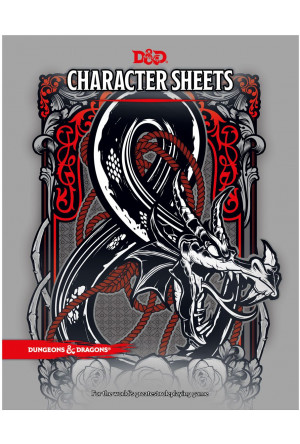 Dungeons & Dragons RPG Character Sheets (24) english