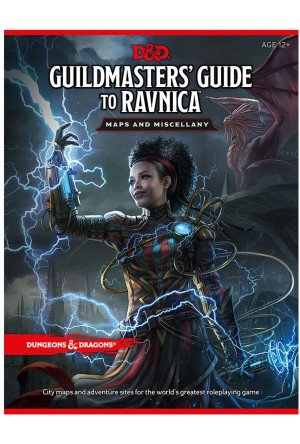 Dungeons & Dragons RPG Guildmasters' Guide to Ravnica - Maps & Miscellany english
