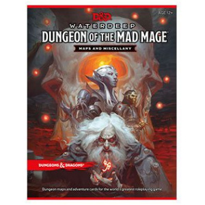 Dungeons & Dragons RPG Waterdeep: Dungeon of the Mad Mage - Maps & Miscellany english