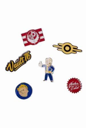 Fallout 76 Pin Set 6-Pack