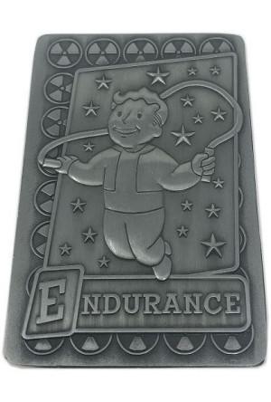 Fallout Replica Perc Card Endurance