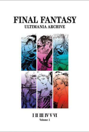 Final Fantasy Art Book Ultimania Archive Volume 1