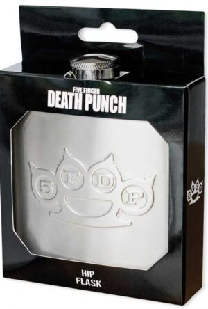 Five Finger Death Punch Flask Logo