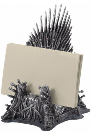 Game of Thrones Business Card Holder Iron Throne 11 cm