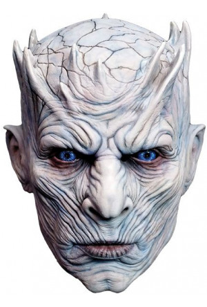Game of Thrones Latex Mask Night King