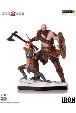 God of War Deluxe Art Scale Statue 1/10 Kratos & Atreus 20 cm