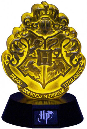 Harry Potter 3D Icon Light Hogwarts Crest 11 cm