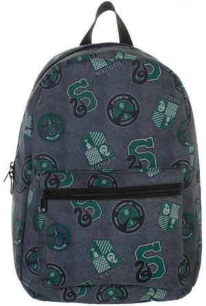 Harry Potter Backpack Slytherin Patches