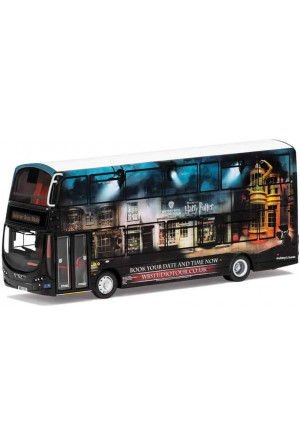 Harry Potter Diecast Model 1/76 Wright Eclipse Gemini 2 Warner Bros. Studio Shuttle Bus