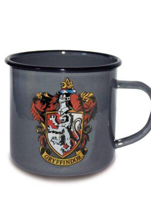 Harry Potter Enamel Mug Gryffindor Logo