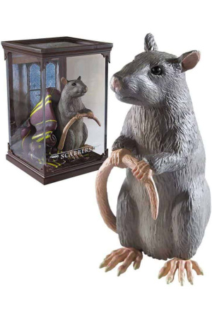 Harry Potter Magical Creatures Statue Scabbers 13 cm