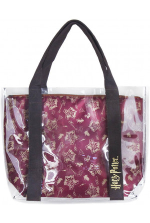 Harry Potter Tote Bag Hogwarts Logos