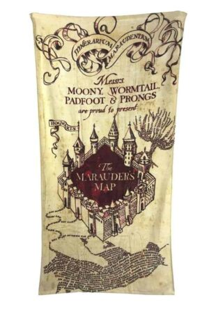 Harry Potter Towel Marauder's Map 150 x 75 cm