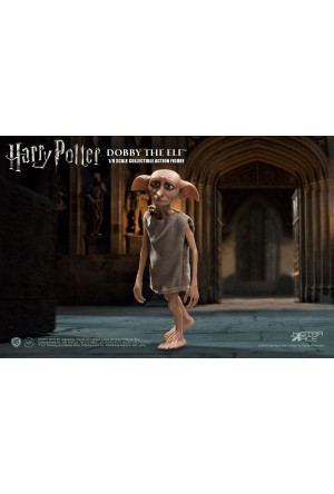 Harry Potter and the Chamber of Secrets Real Master Series Action Figure 1/8 Dobby 12 cm