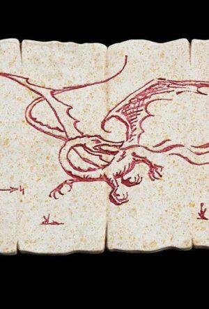Hobbit Magnet Dragon Map