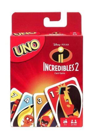 Incredibles 2 UNO Card Game *English Version*
