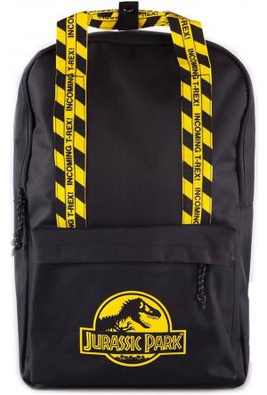 Jurassic Park Backpack Caution Tape
