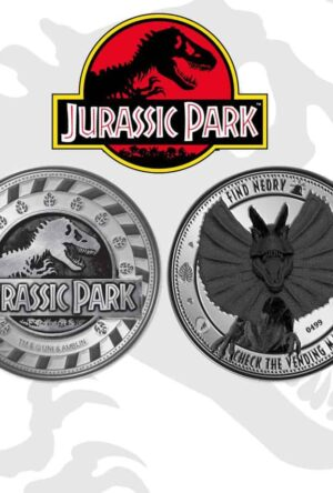 Jurassic Park Collectable Coin Find Nedry