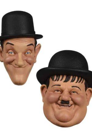 Laurel and Hardy Fridge Magnets 2-Pack 7 cm