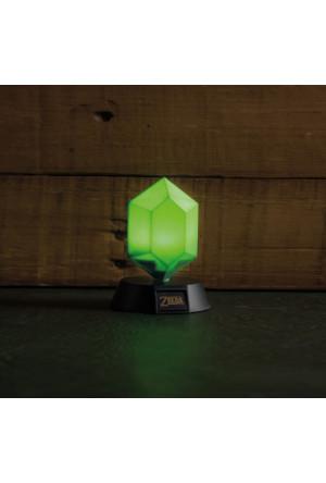 Legend of Zelda 3D Light Green Rupee 10 cm