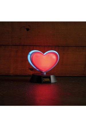 Legend of Zelda 3D Light Heart Container 10 cm