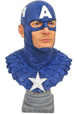 Marvel Comics Legends in 3D Bust 1/2 Captain America 25 cm