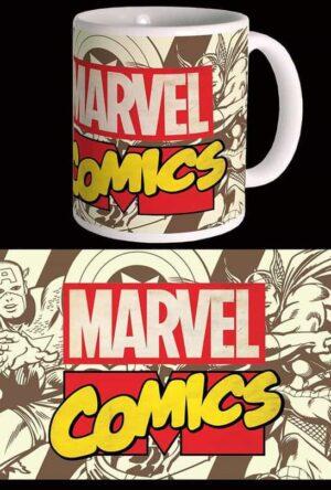 Marvel Comics Mug Retro Logo