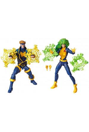 Marvel Legends 80th Anniversary Action Figures 2-Pack X-Men Havok & Polaris 15 cm