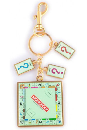 Monopoly Metal Keychain Board Game