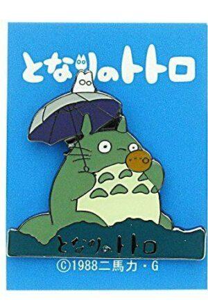 My Neighbor Totoro Pin Badge Ocarina Logo