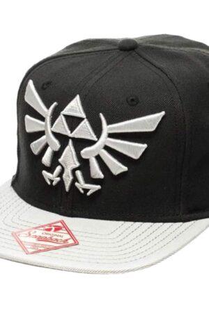 Nintendo Baseball Cap Zelda Grey Logo