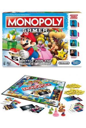 Nintendo Board Game Monopoly Gamer Mario Edition *English Version*