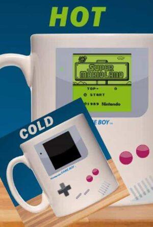 Nintendo Game Boy Heat Change Mug Super Mario Land